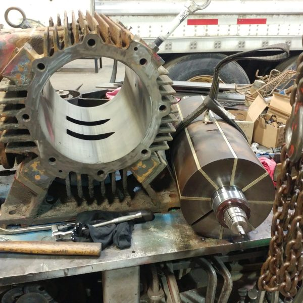 Vacuum Pump & Blower Rebuilding